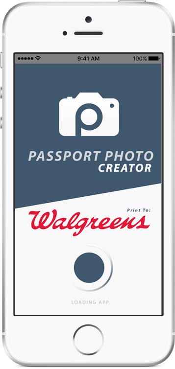 passport photo creator app ad