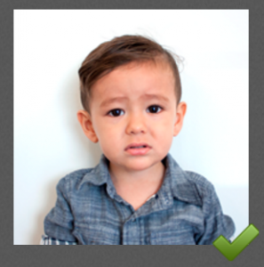 Toddler Passport Photo Tips