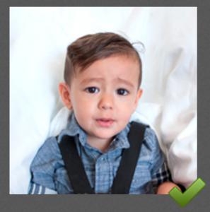 Child Passport Photo Tips